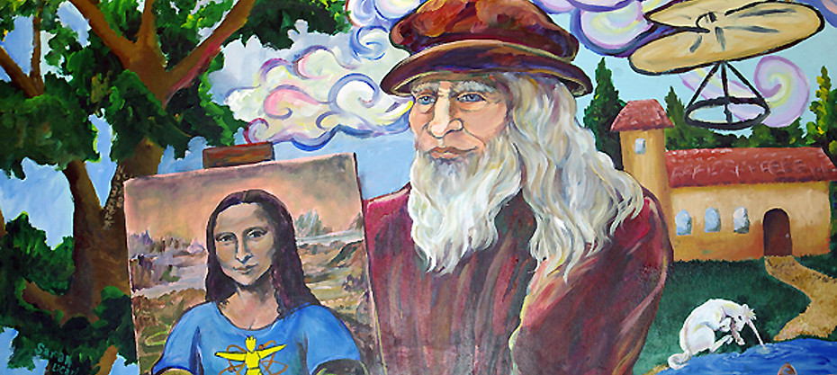 Baum School Murals