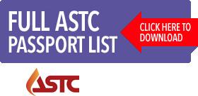 ASTC Passport List