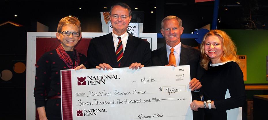 National Penn Bank Support
