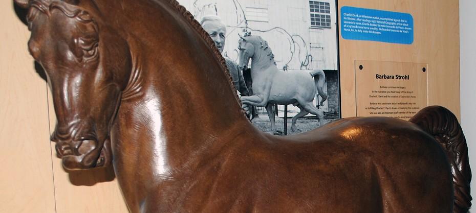 Leonardo's Horse at Da Vinci Science Center