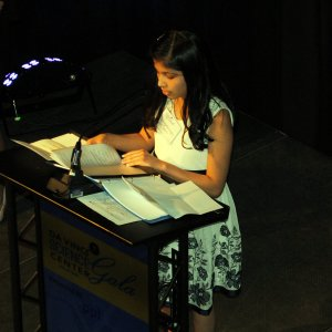 Cecelia Banegas Lopez, a fifth grader at Donegan Elementary School, discusses how programs supported by the Science Inquiry Fund have helped both her literacy and knowledge of science.