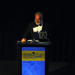 Barry Fisher, general manager for WFMZ-TV, accepted the Grand Maestro Corporate Award.