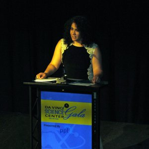 Lissette Santana, senior manager of corporate relations for PPL, this year's presenting sponsor.